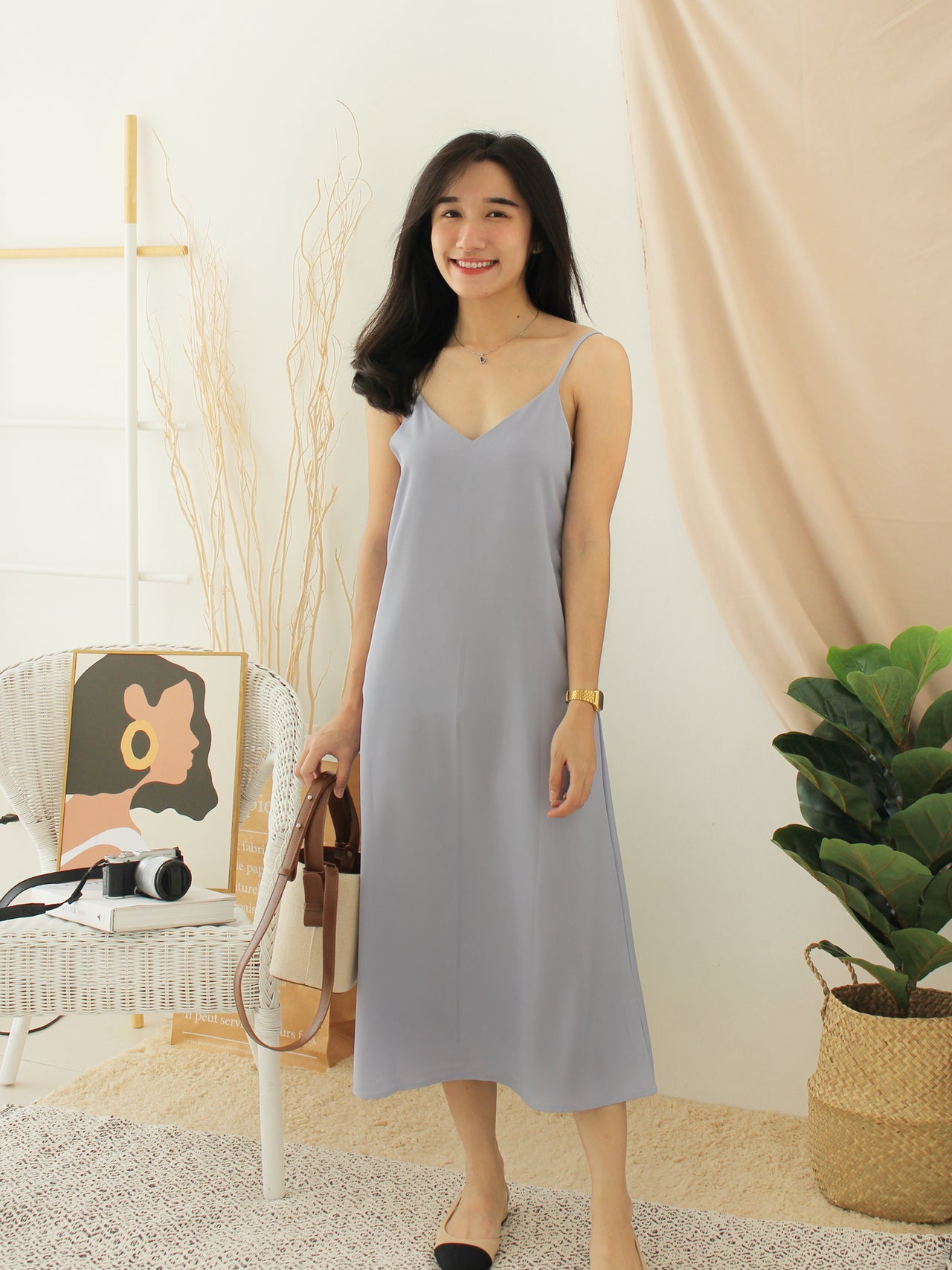 LAVENDAR Strap Dress