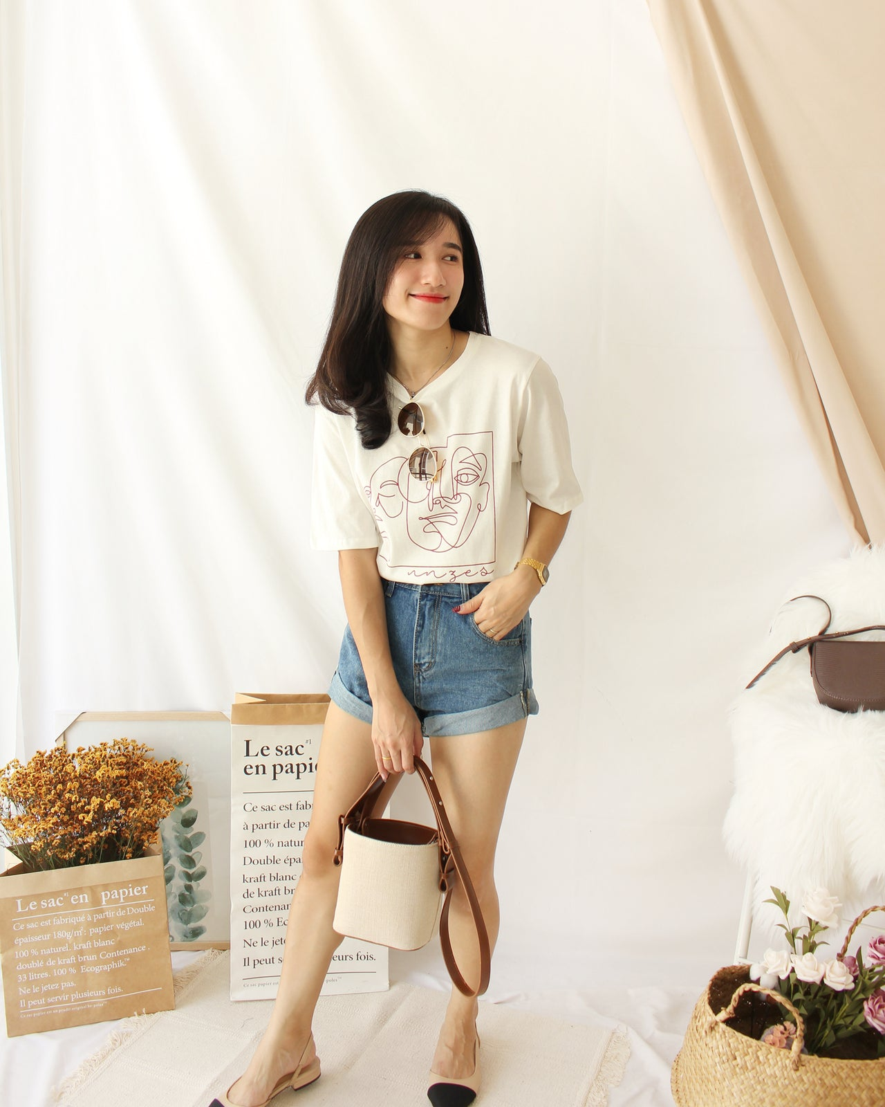 Minimal Tee - LovelyMadness Clothing Online Fashion Malaysia