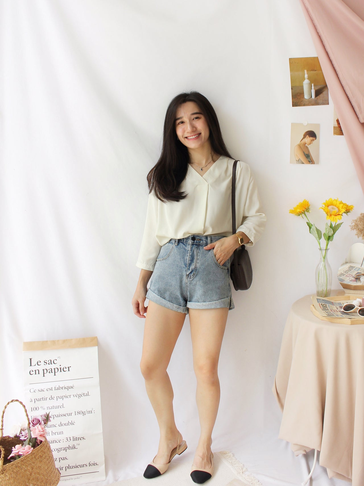 Knit Woolen Top - LovelyMadness Clothing Online Fashion Malaysia