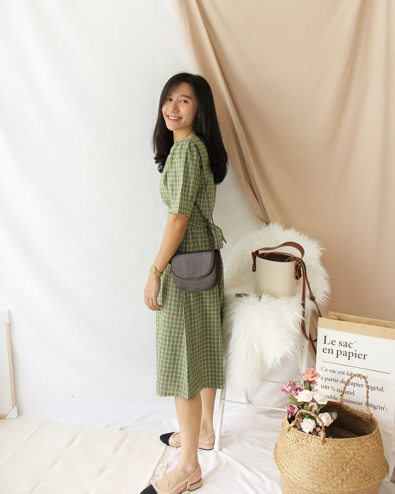 Korea Seeyoen Dress - LovelyMadness Clothing Online Fashion Malaysia