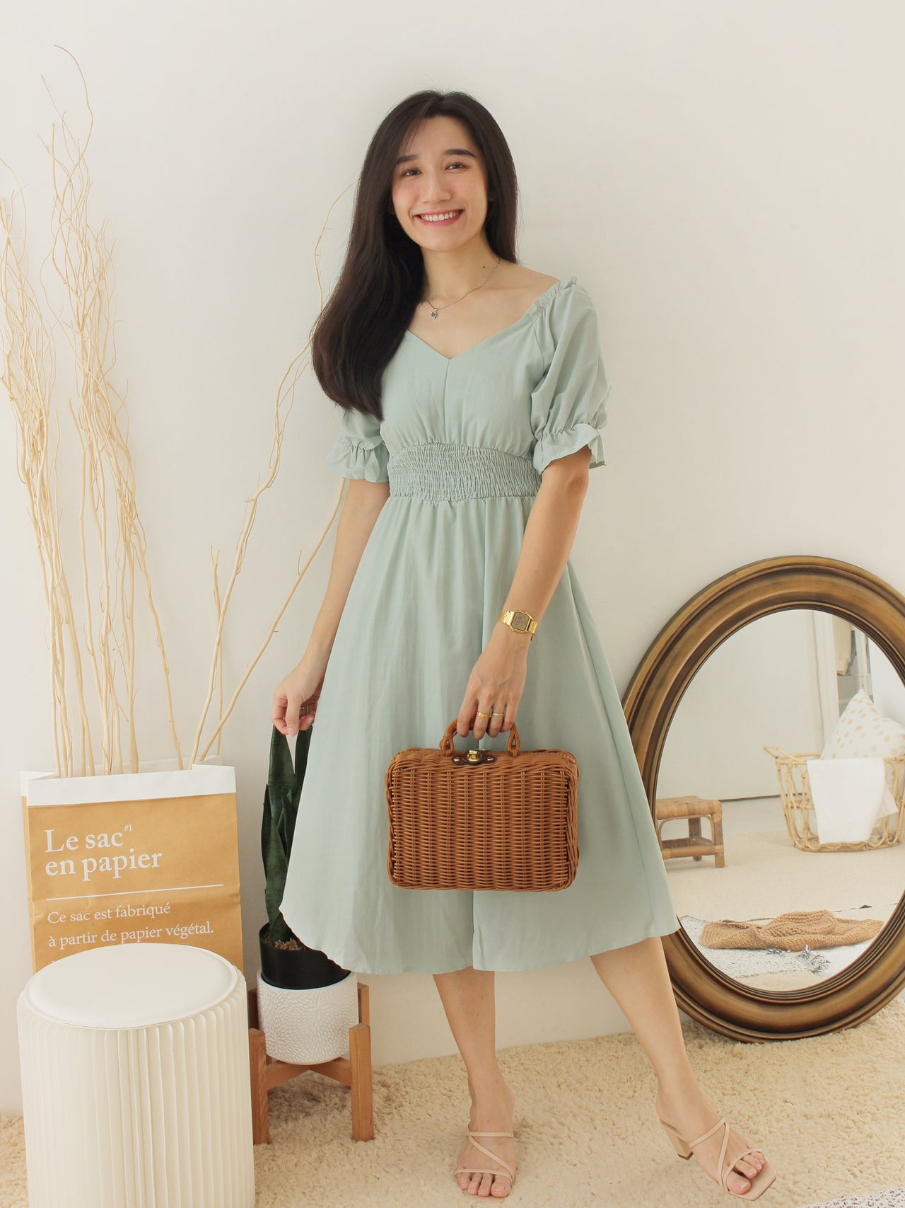 MAIXIN Ruffle Dress