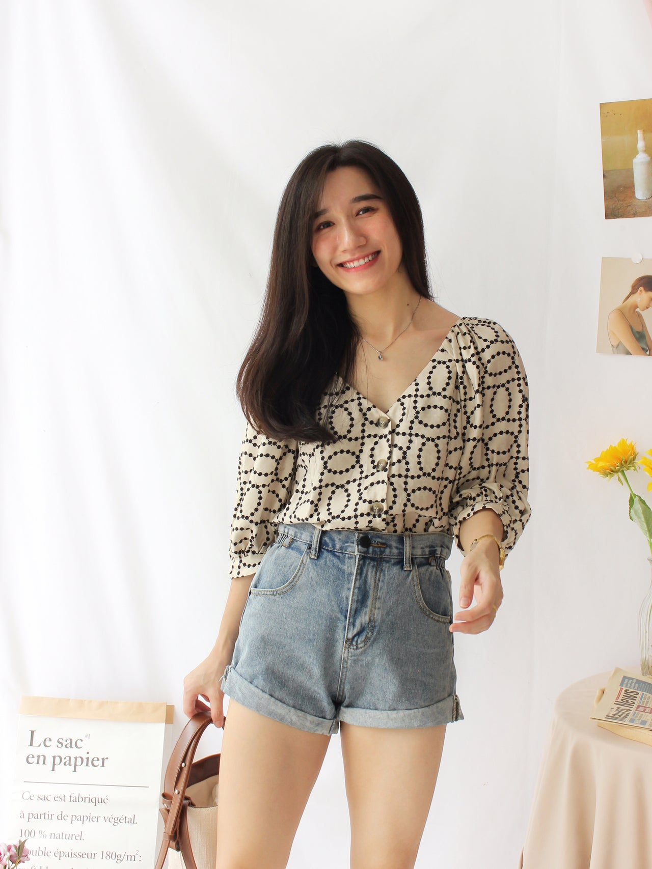 Ramie Tank - LovelyMadness Clothing Online Fashion Malaysia