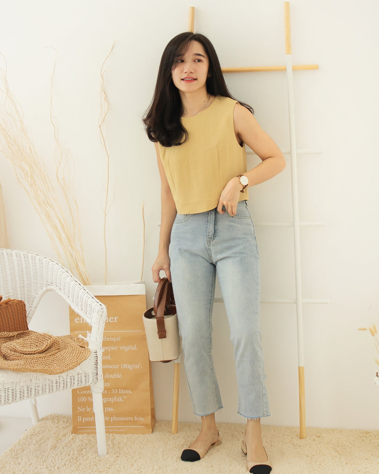 Darling Long Jeans - LovelyMadness Clothing Online Fashion Malaysia