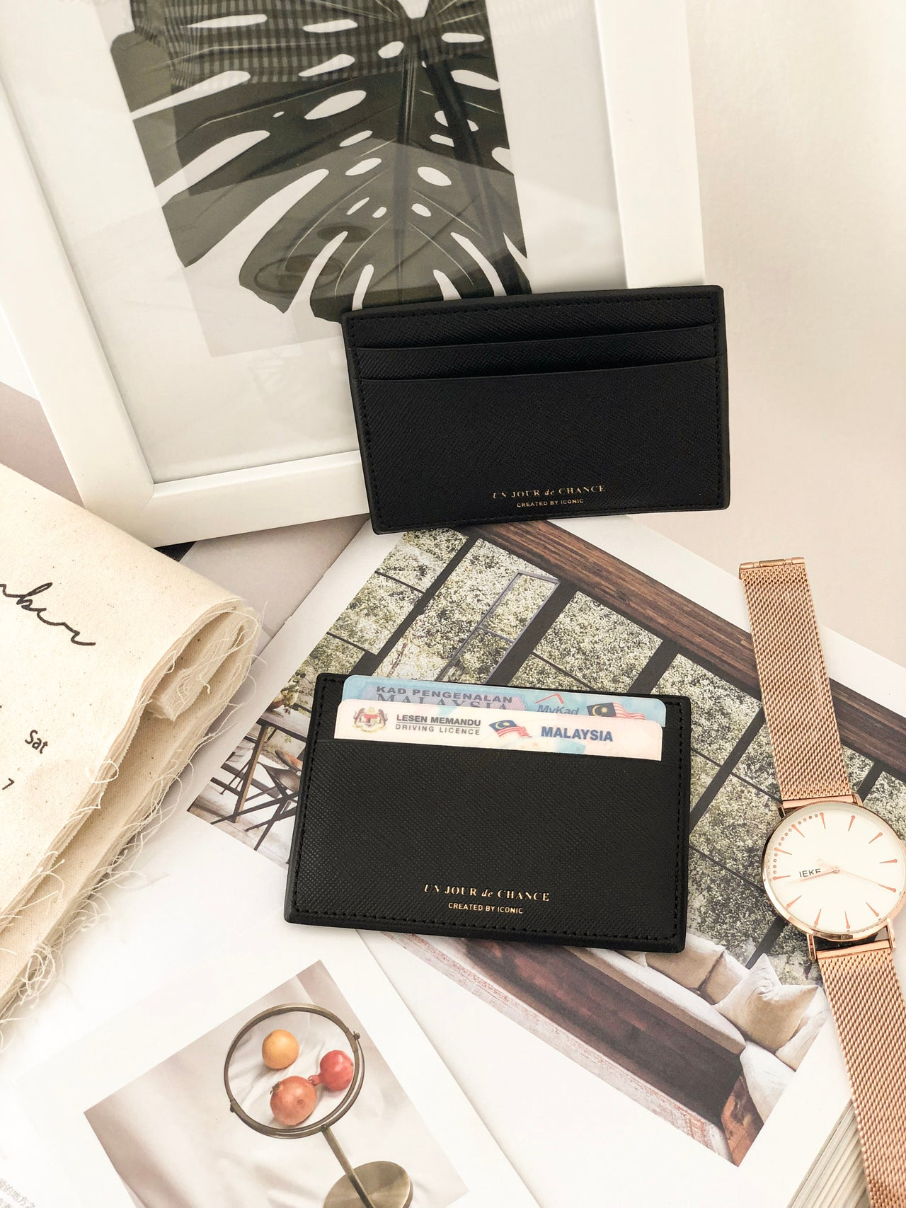 ICONIC Card Holder - LovelyMadness Clothing Online Fashion Malaysia