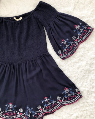 Bohemia Flare Romper - Lovely Madness