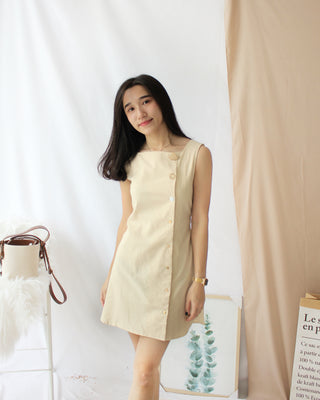 France Ramie Dress - LovelyMadness Clothing Online Fashion Malaysia