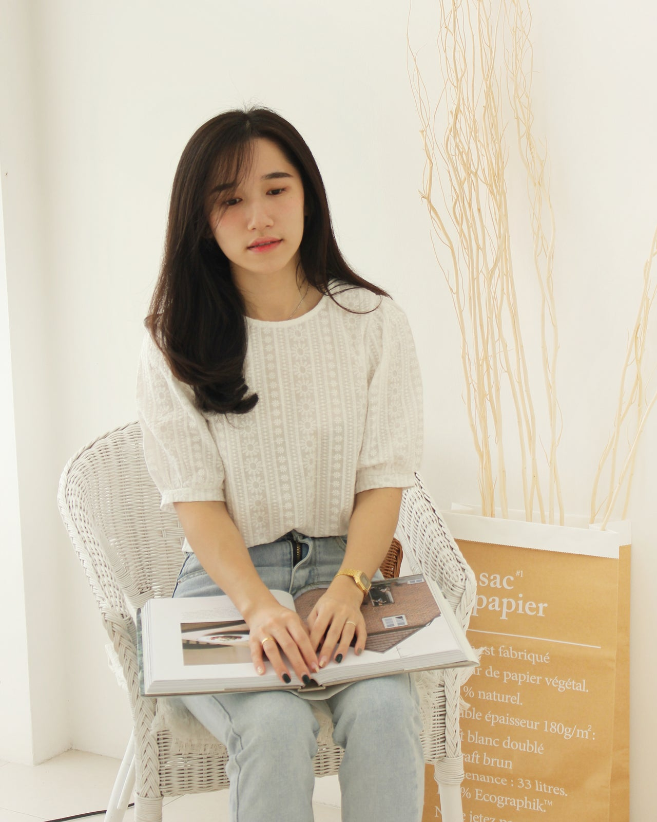 Korean Puffy Top - LovelyMadness Clothing Online Fashion Malaysia