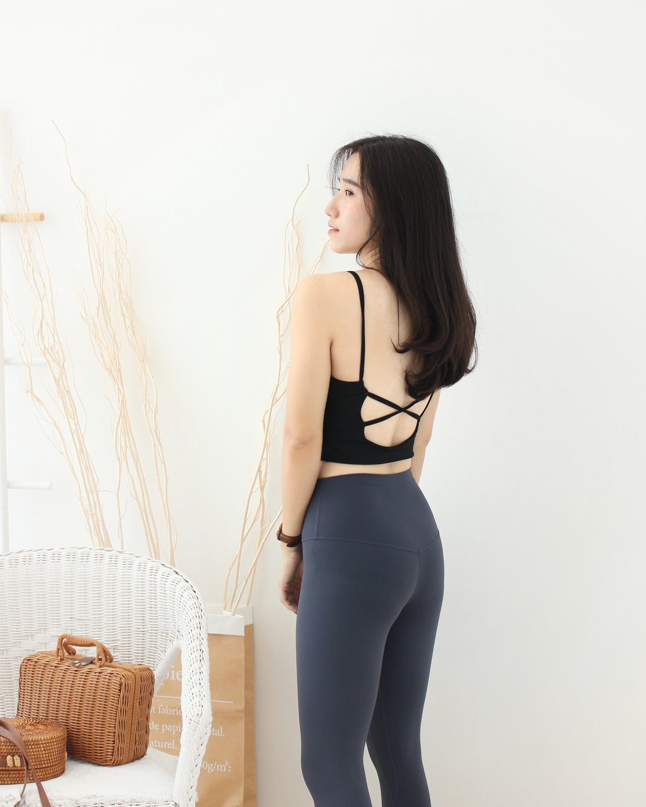 Yoga Cross Back Bra - LovelyMadness Clothing Online Fashion Malaysia