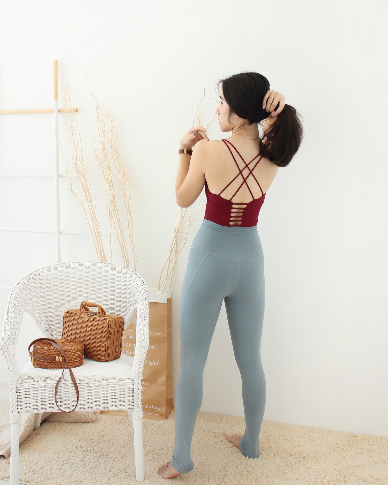 Lana Yoga Sport Bra - LovelyMadness Clothing Online Fashion Malaysia