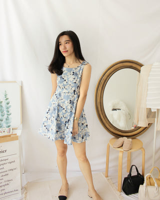 Rhonda Floral Dress - LovelyMadness Clothing Online Fashion Malaysia