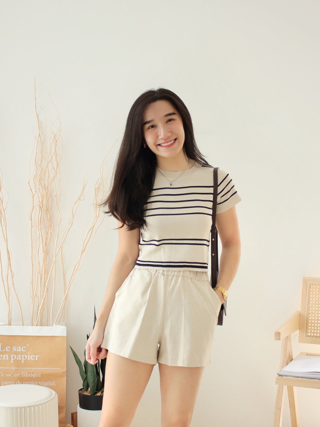 Pastel Square Neck - LovelyMadness Clothing Online Fashion Malaysia