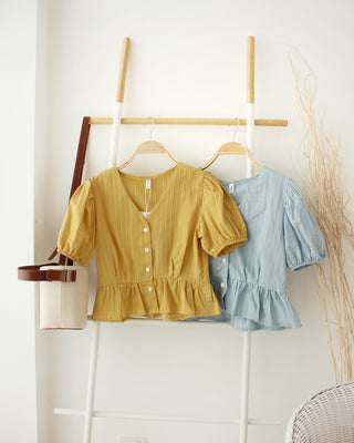 DENICE Dolly Top - LovelyMadness Clothing Online Fashion Malaysia