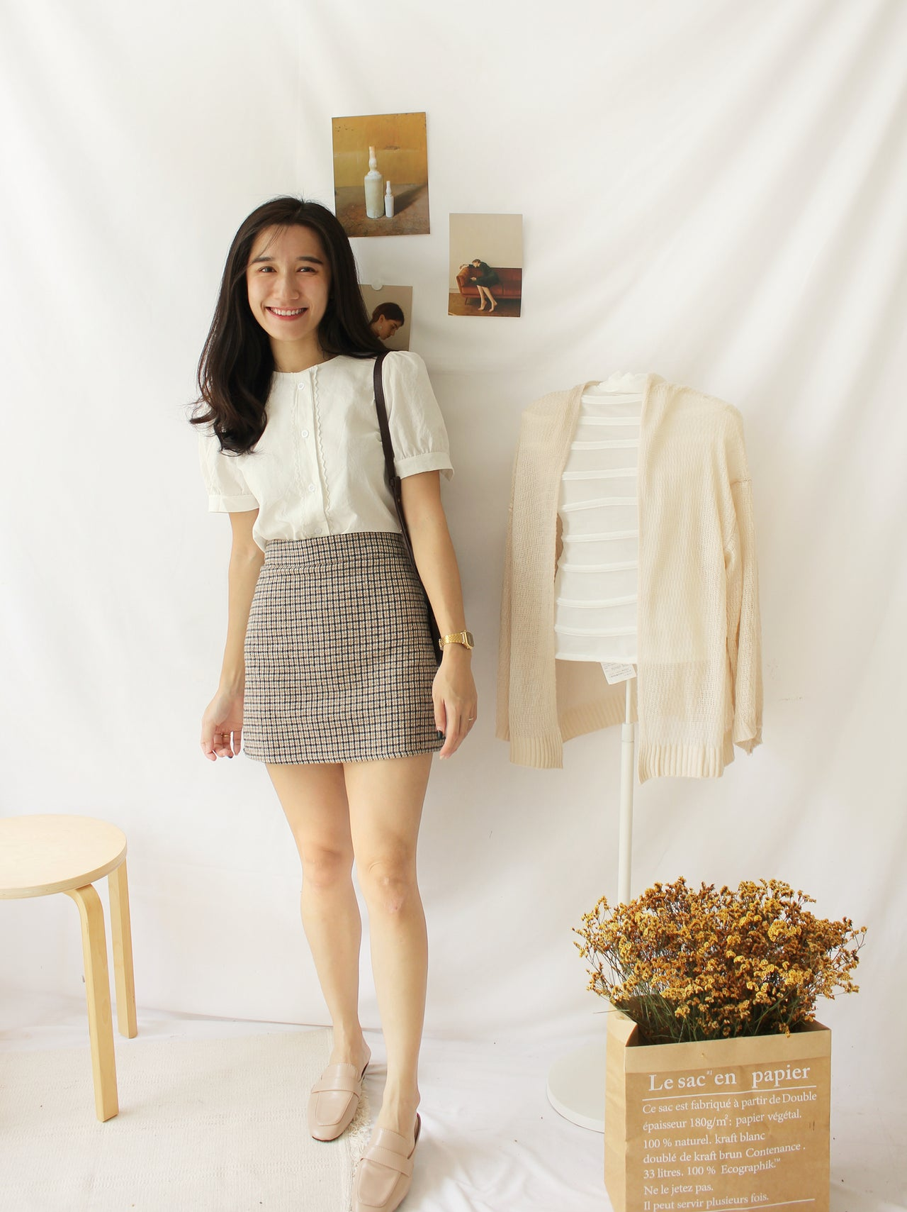 Korean France Top - LovelyMadness Clothing Online Fashion Malaysia