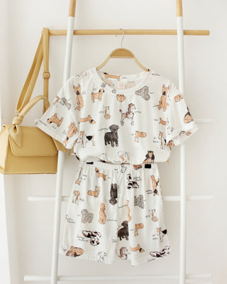 PUPPIES Pyjamas Set - LovelyMadness Clothing Online Fashion Malaysia