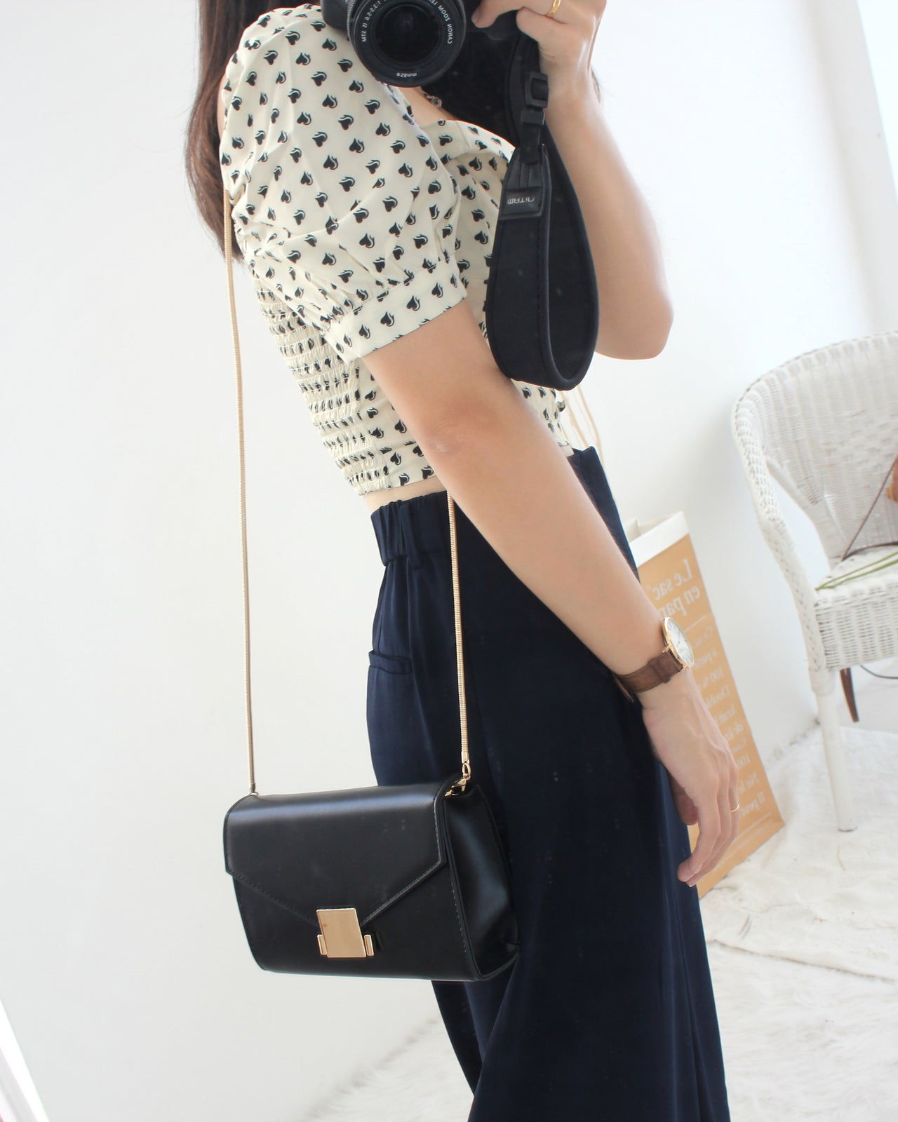 Dahlia Chain Bag - LovelyMadness Clothing Online Fashion Malaysia