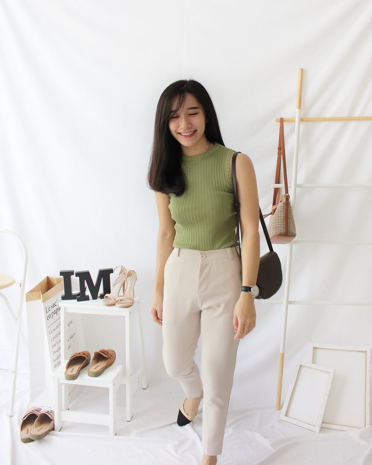 Simple Sleeveless Tank - LovelyMadness Clothing Online Fashion Malaysia