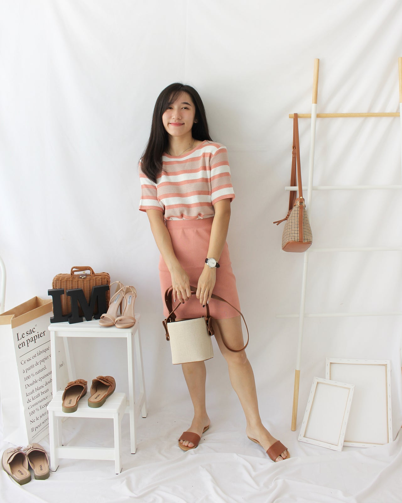 Pink Pastel Set - LovelyMadness Clothing Online Fashion Malaysia