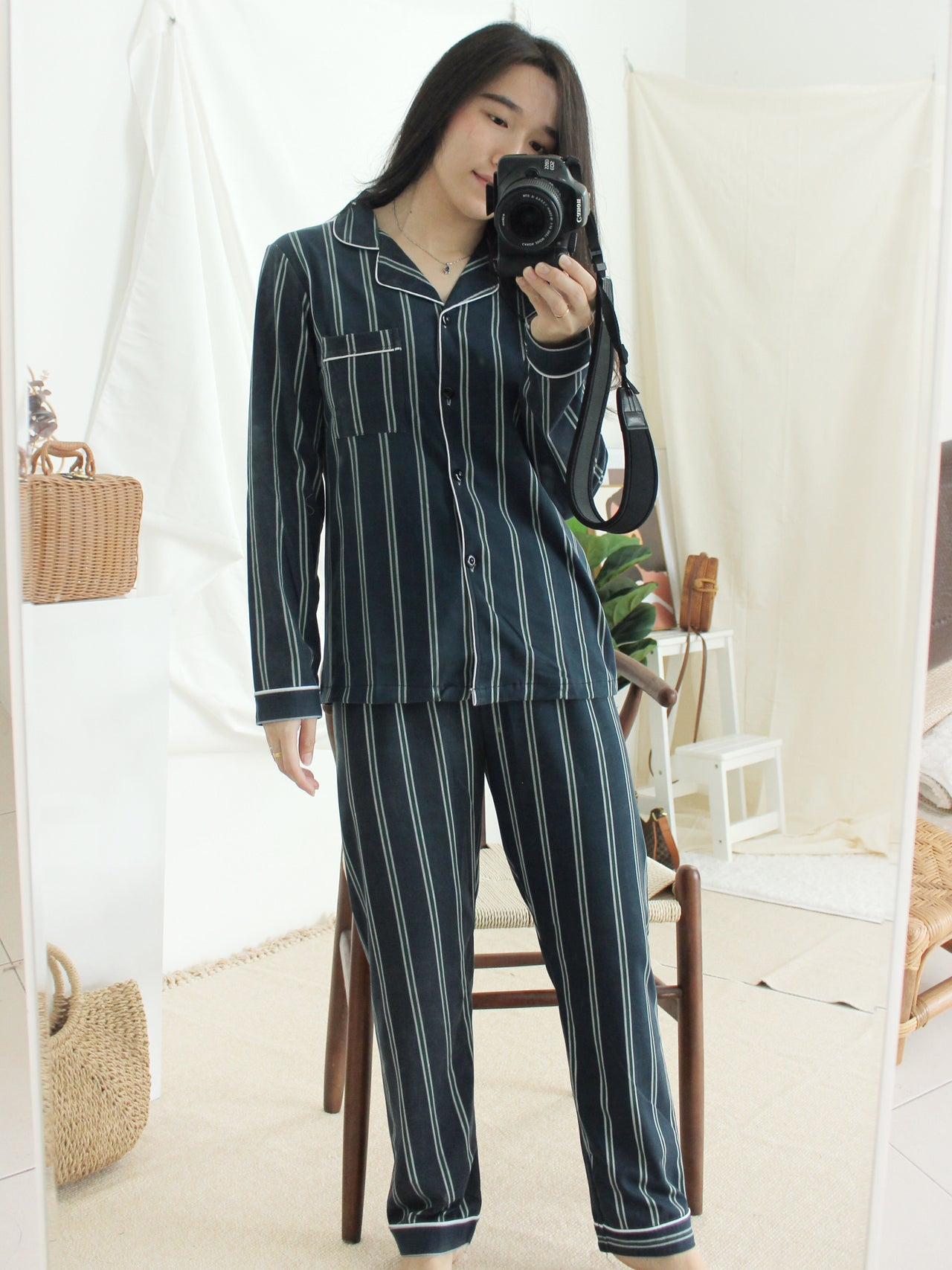 MIA Stripe Jumpsuits - LovelyMadness Clothing Online Fashion Malaysia