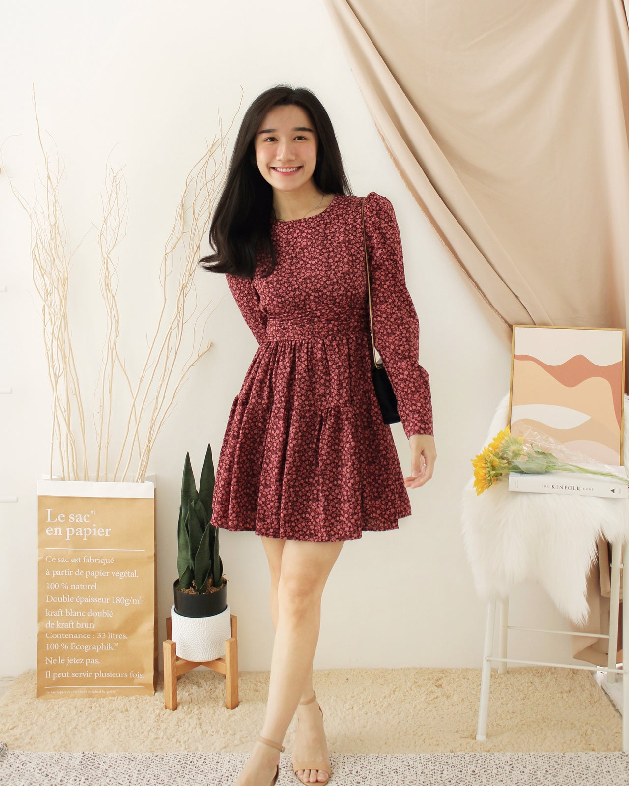 JOREEN Floral Dress
