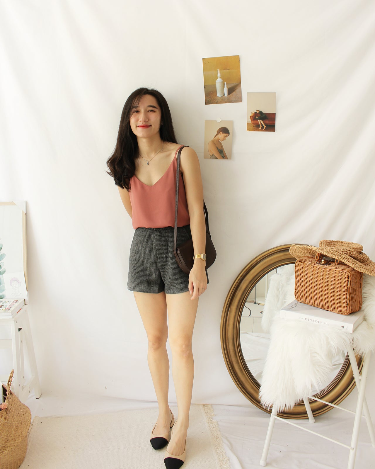 Clara Strap Tank - LovelyMadness Clothing Online Fashion Malaysia