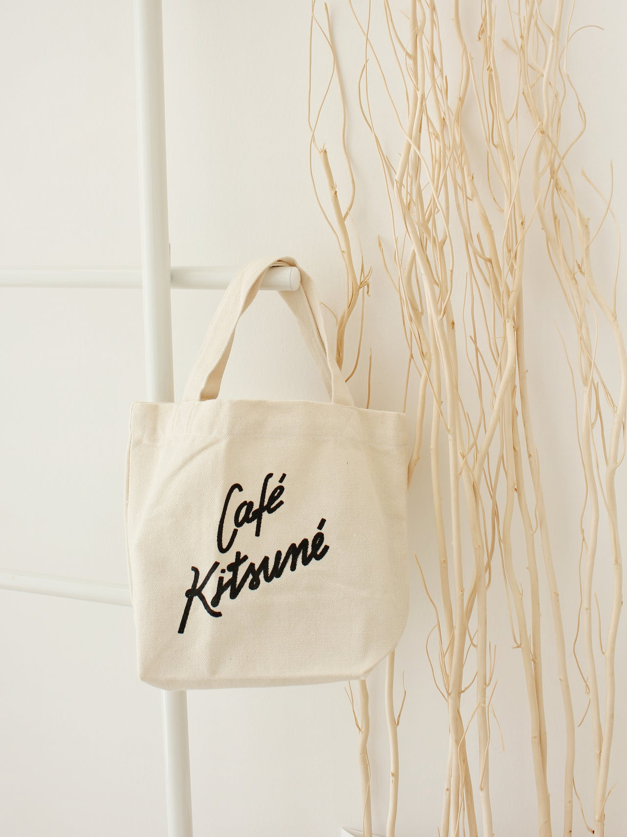 Cafe Kitsume Tote - LovelyMadness Clothing Online Fashion Malaysia