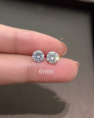 Diamond Earrings - LovelyMadness Clothing Online Fashion Malaysia