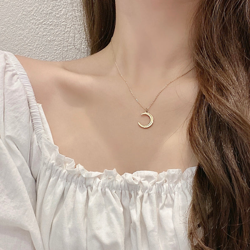 Moon Gold Necklace