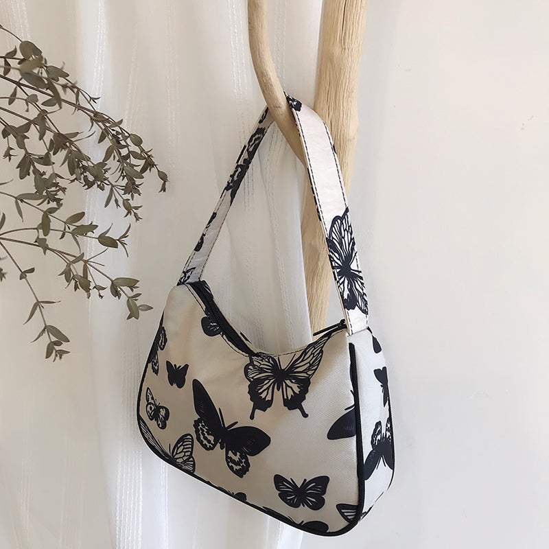 HOBO Butterfly Canvas Bag