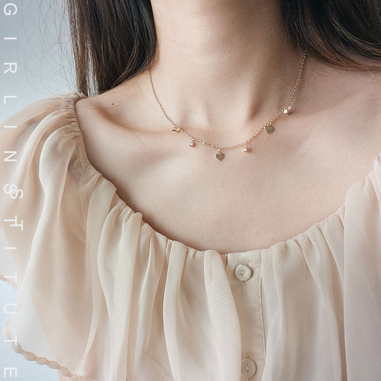 Love DIamond Necklace - LovelyMadness Clothing Online Fashion Malaysia