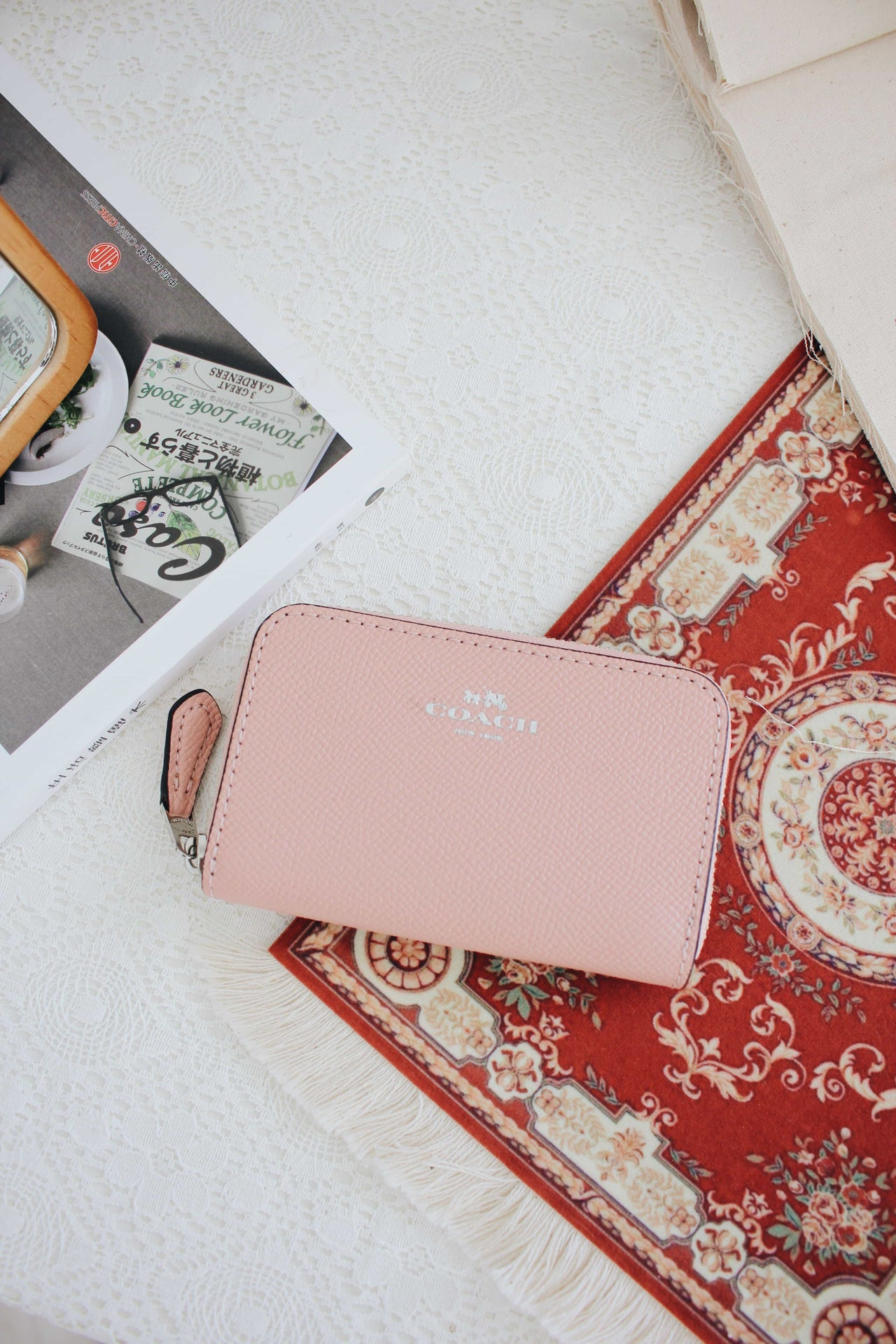 COACH ZIP AROUND COIN CASE - LovelyMadness Clothing Online Fashion Malaysia