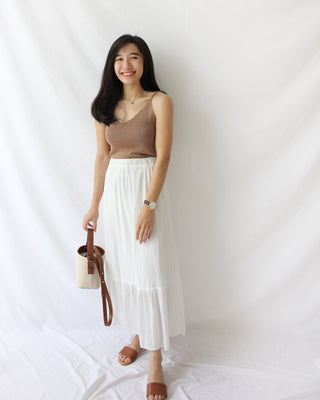 Truffle Midi skirt - LovelyMadness Clothing Online Fashion Malaysia