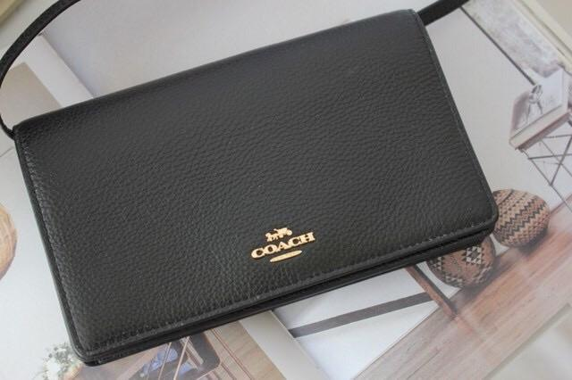 Coach Foldover Crossbody Clutch - LovelyMadness Clothing Online Fashion Malaysia