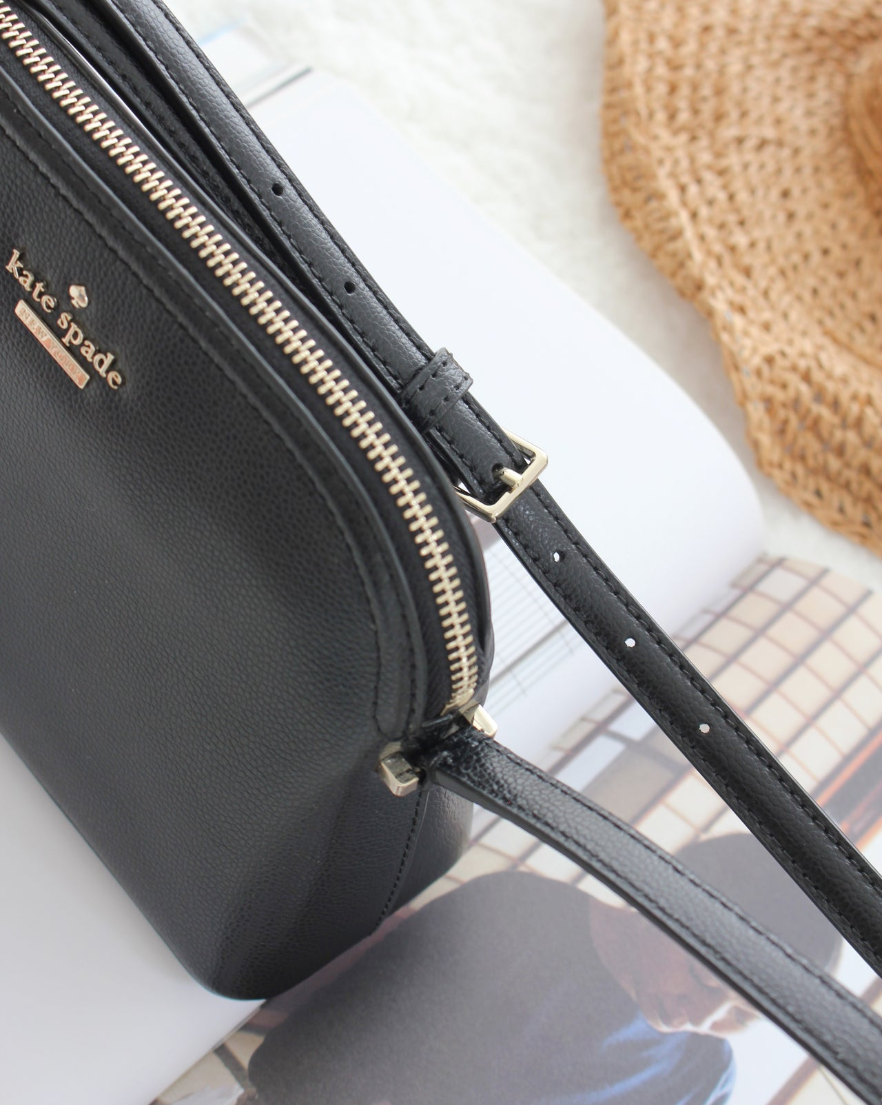 Kate Spade Peggy Patterson Drive Leather Crossbody Bag - LovelyMadness Clothing Online Fashion Malaysia