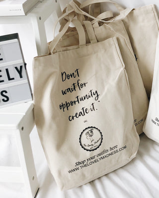 LOVELYMADNESS TOTE BAG - Lovely Madness