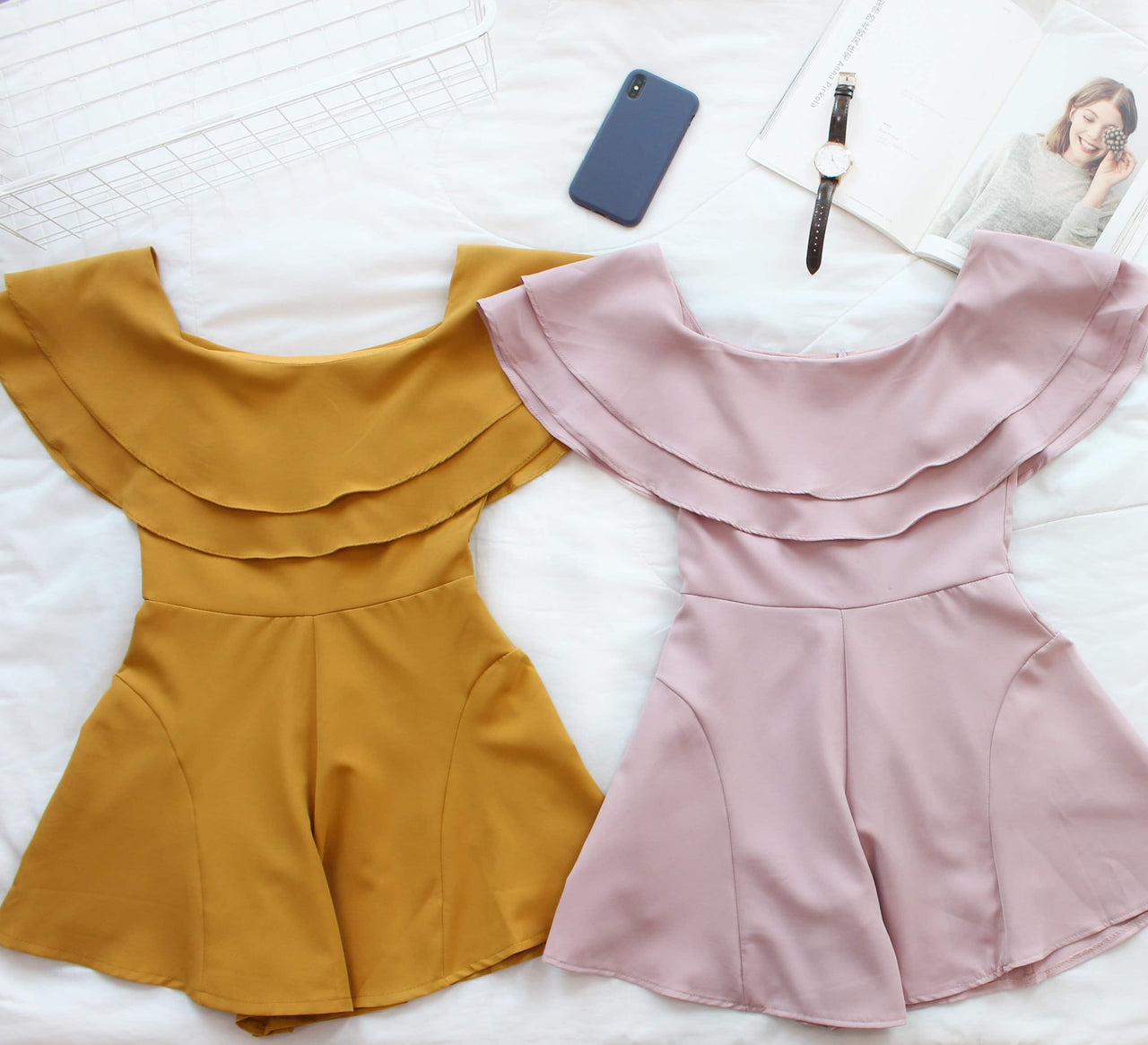 Hermione Flare Romper - Lovely Madness