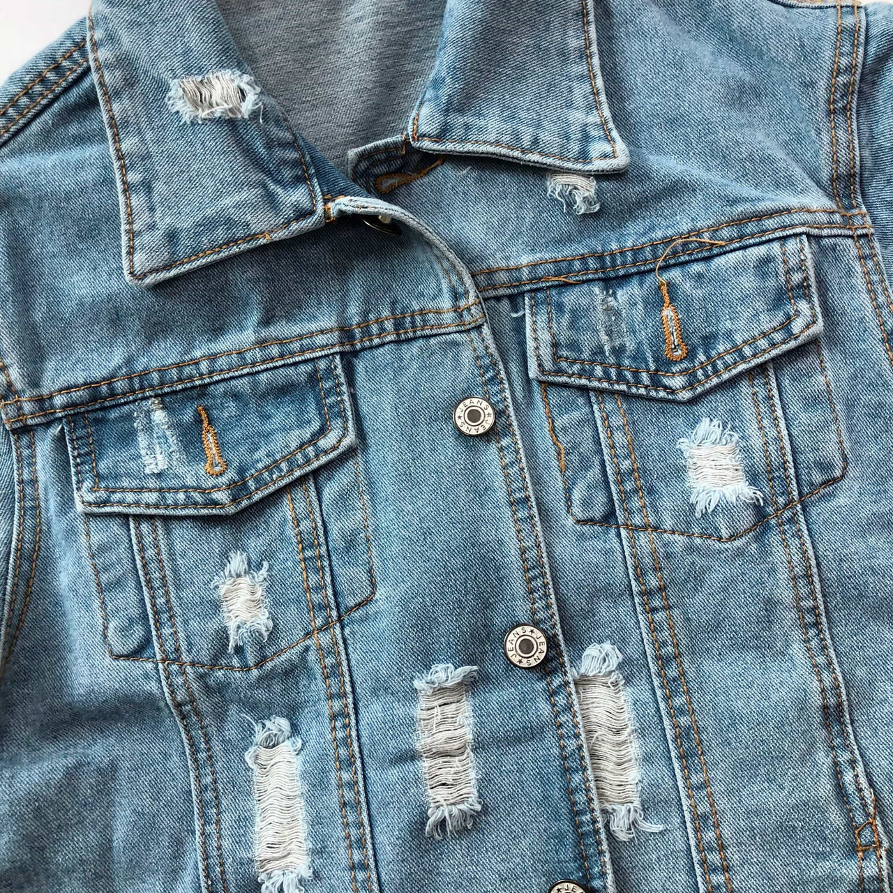 Denim Swag Jacket - Lovely Madness