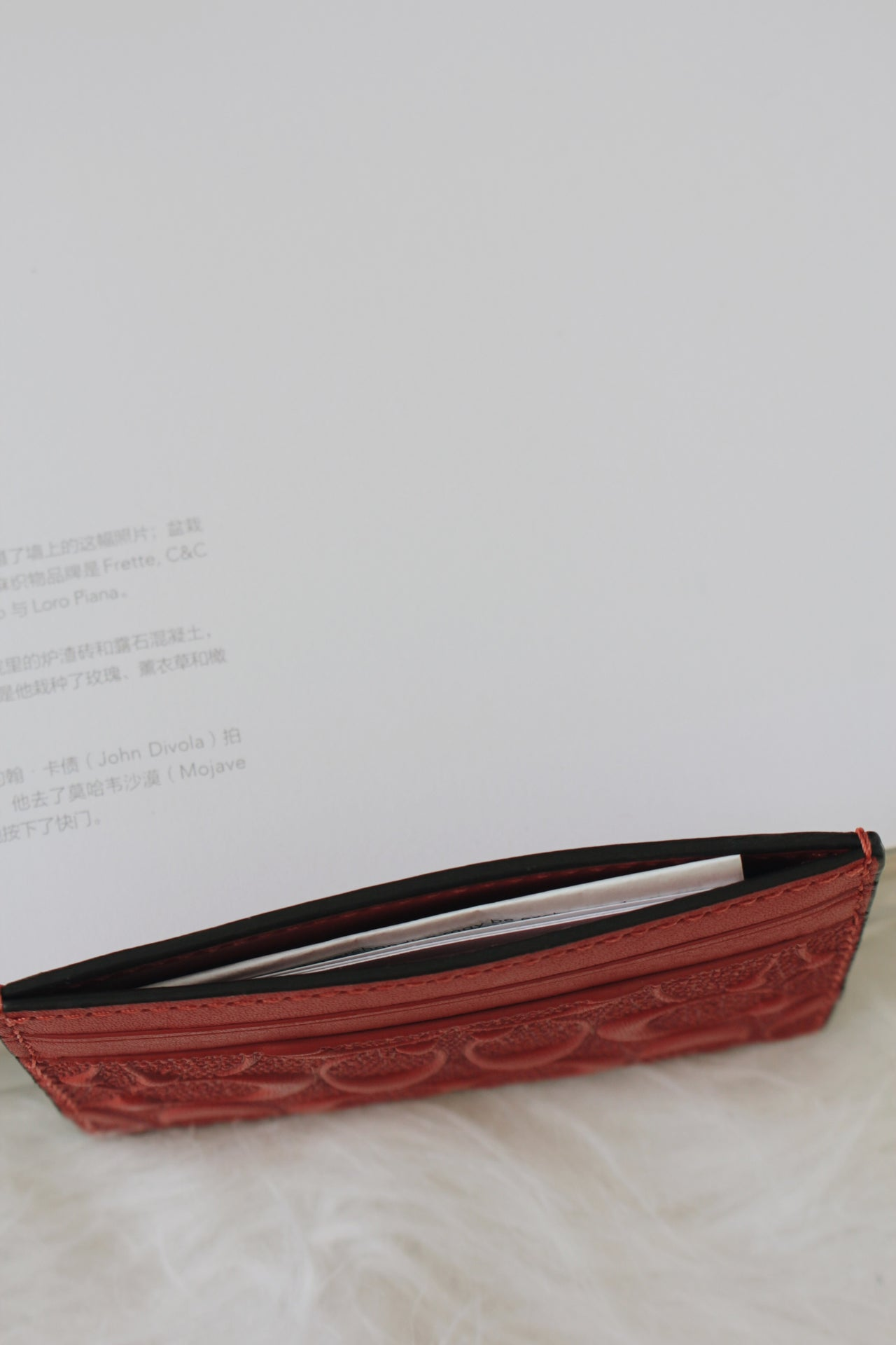 Coach NWT Flat Credit Card Case Leather - LovelyMadness Clothing Online Fashion Malaysia