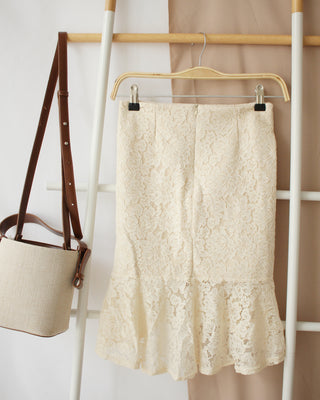 ZC Lace Skirt - LovelyMadness Clothing Online Fashion Malaysia