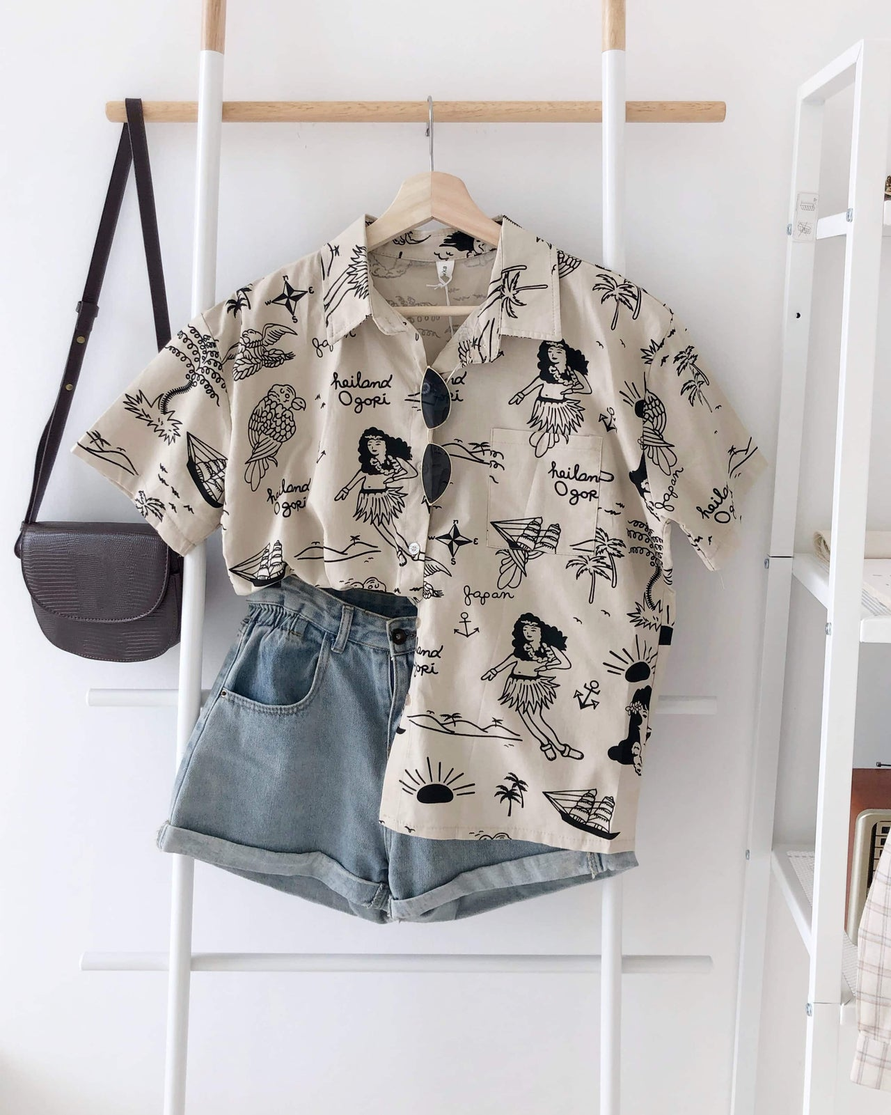 Summer Vacation Shirt - LovelyMadness Clothing Online Fashion Malaysia