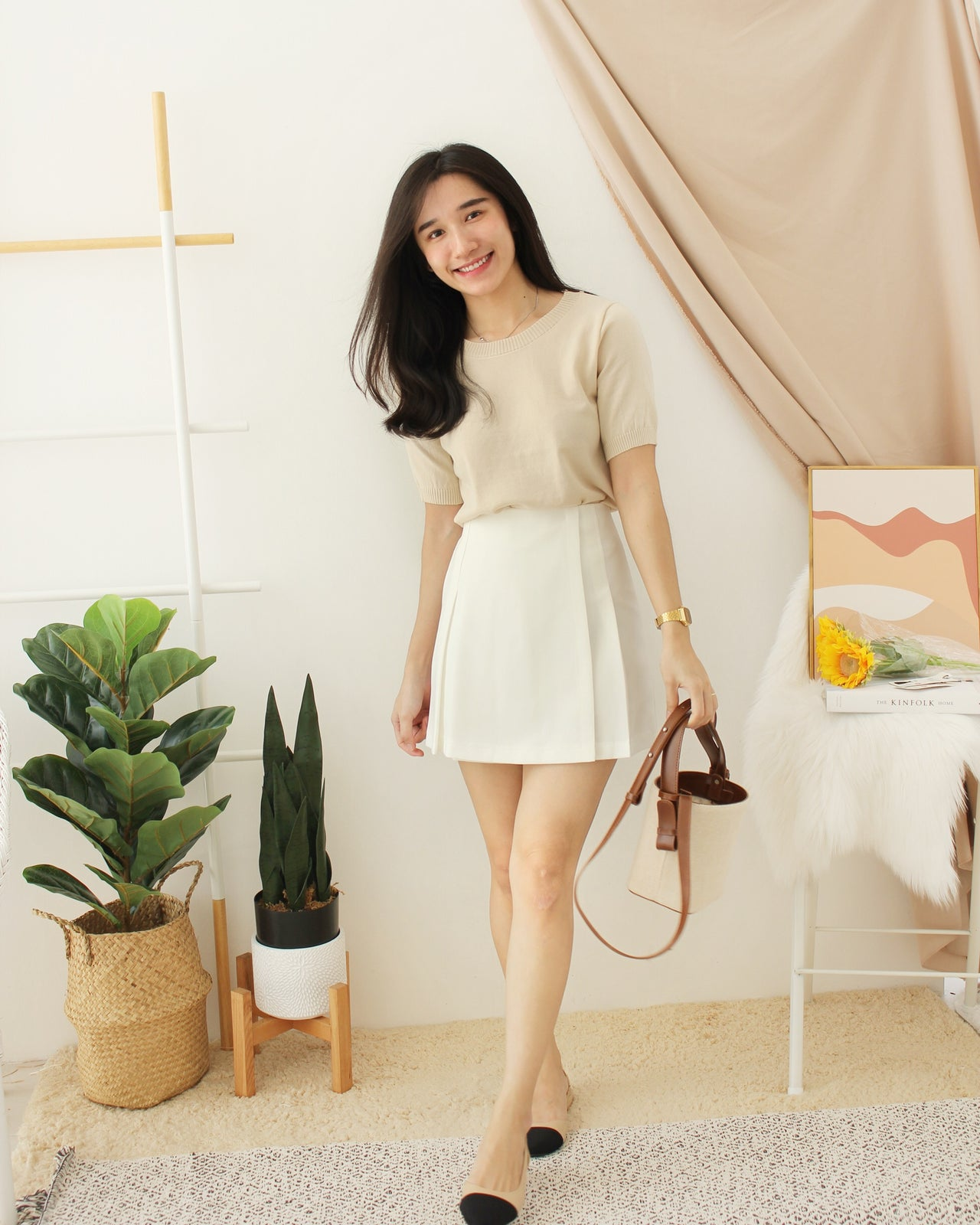 VALEY Alined Skirt