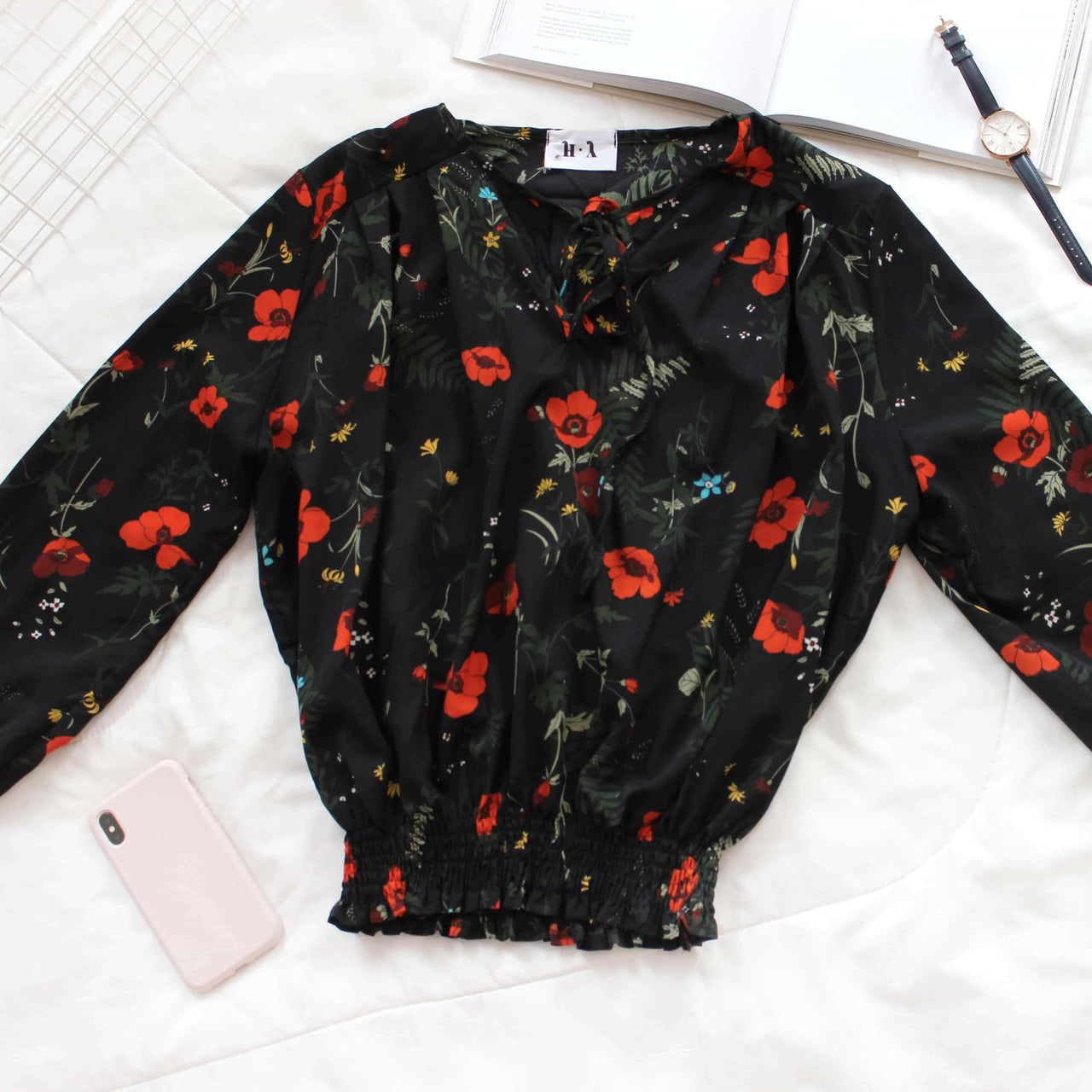 Vintage Floral Blouse - Lovely Madness