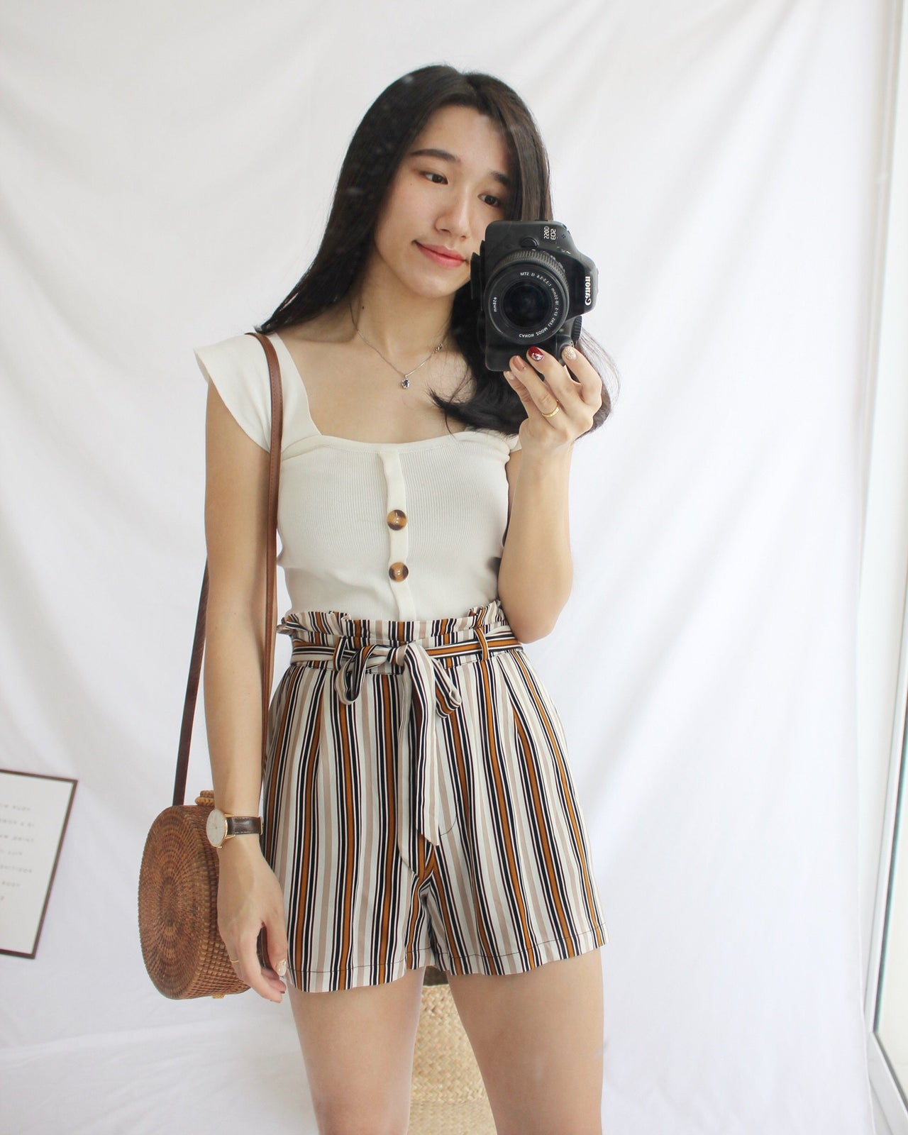 PULL & BEAR Ribbon Short