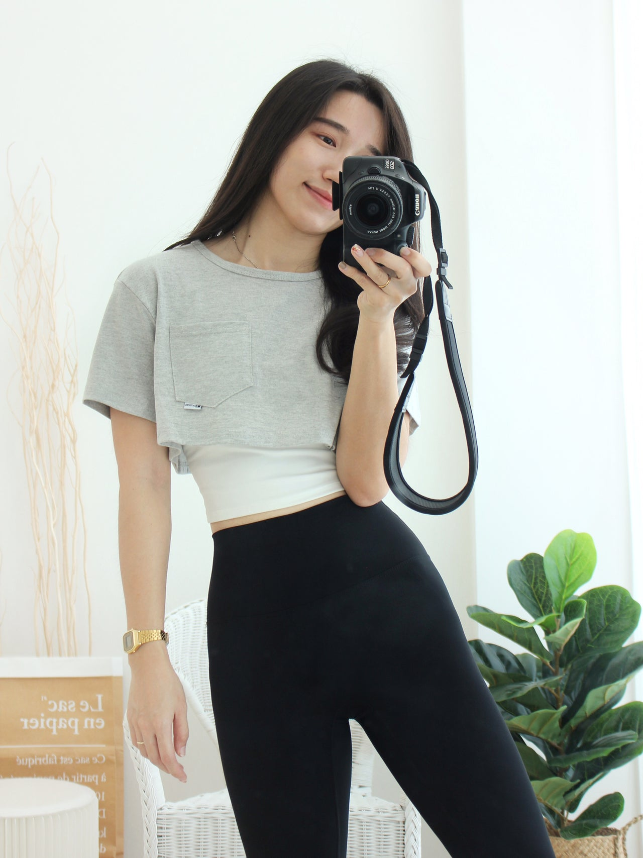 Pocket Crop Top
