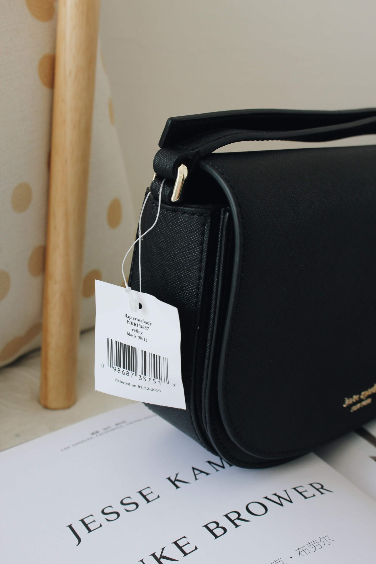 KATE SPADE NEW YORK REILEY FLAP CROSSBODY - LovelyMadness Clothing Online Fashion Malaysia