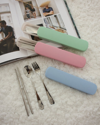 Smiley Cutlery Set - LovelyMadness Clothing Online Fashion Malaysia