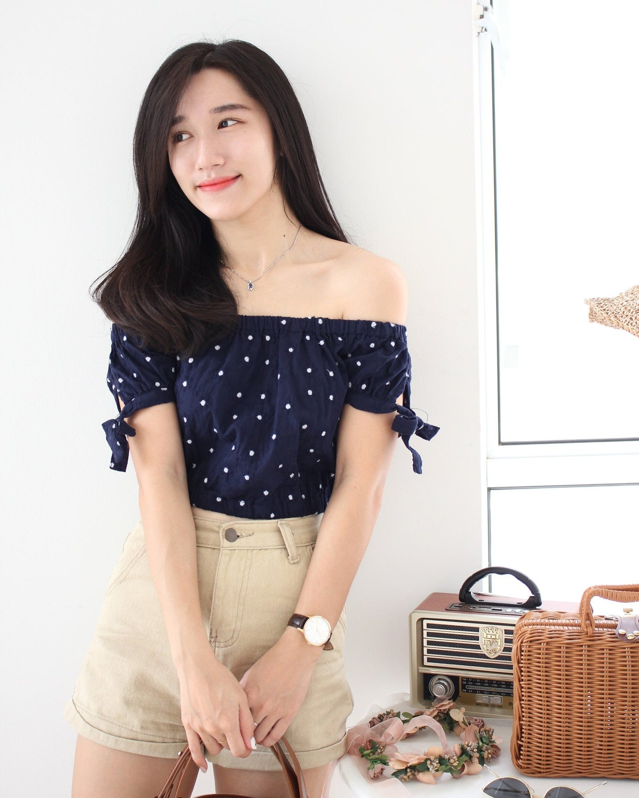 6IXTY 8IGHTY Off Shoulder Top - LovelyMadness Clothing Malaysia