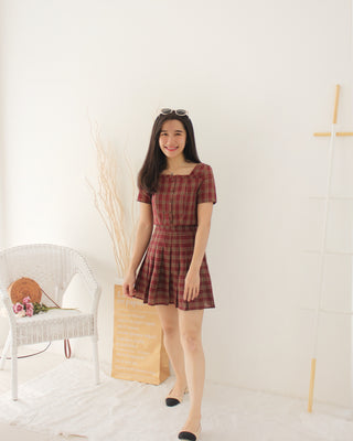 Checkered Tennis Set - LovelyMadness Clothing Online Fashion Malaysia