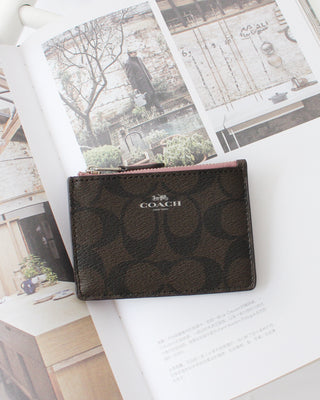 COACH MINI SIGNATURE ID SKNY - LovelyMadness Clothing Online Fashion Malaysia