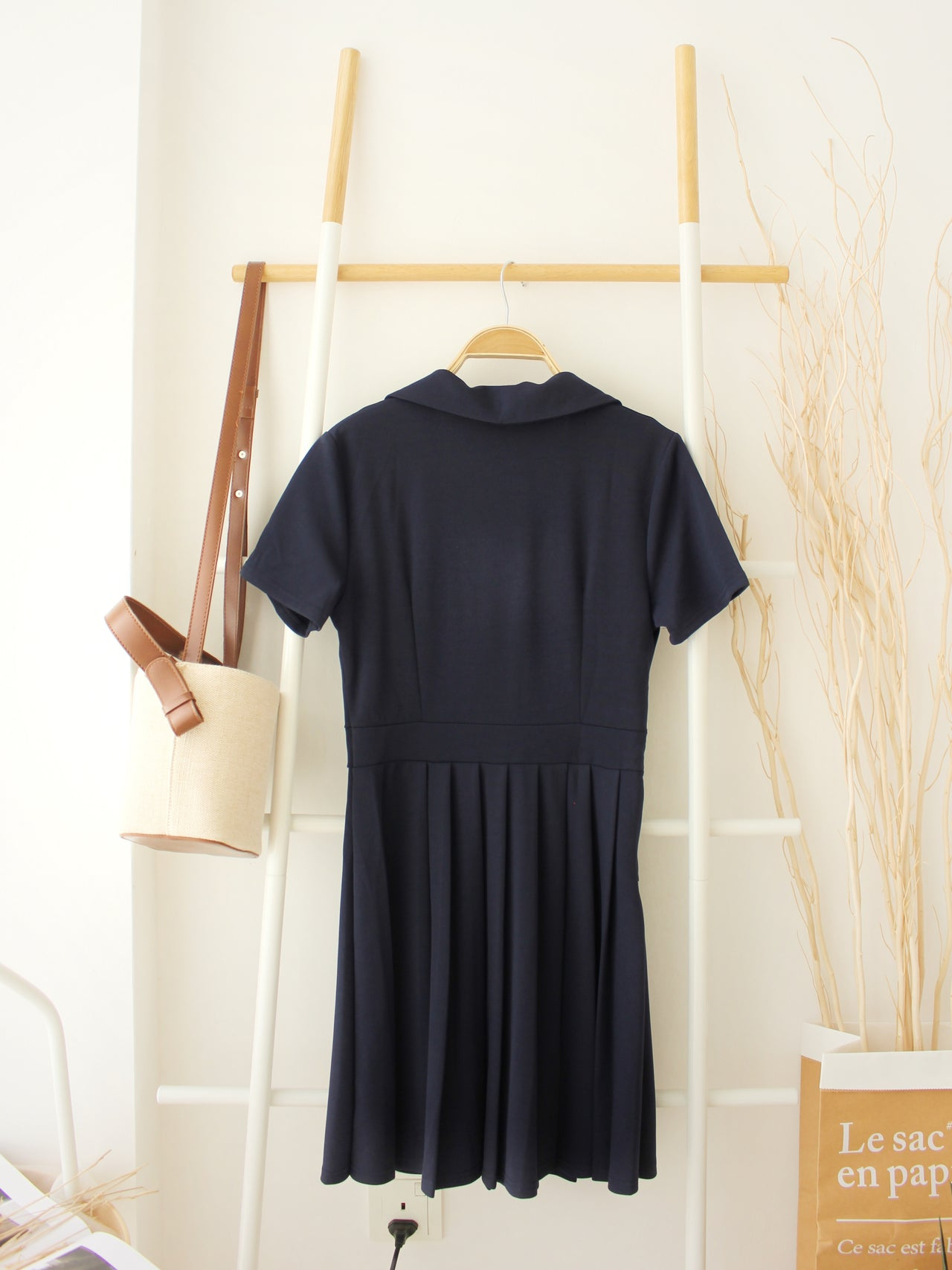 POLO Pleated Dress