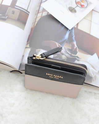 Kate Spade New York Cameron L-Zip Bifold Wallet - LovelyMadness Clothing Online Fashion Malaysia
